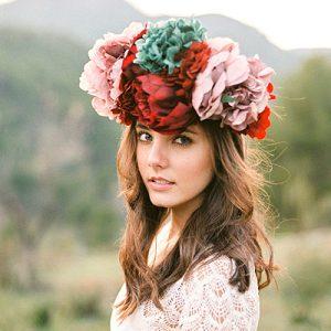 La mejor recopilación de flores para el pelo novia para comprar Online