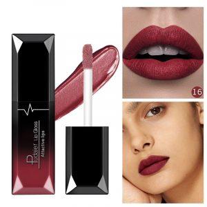 Lista de Pintalabios AZX Maquillaje Impermeable Duradero para comprar on-line – Favoritos por los clientes