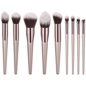 La mejor lista de brochas maquillaje piezas madera cosmética para comprar por Internet – Favoritos por los clientes