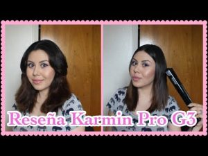 Recopilación de plancha de pelo karmin g3 para comprar On-line