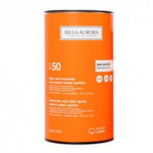 Catálogo para comprar Online crema solar antimanchas bella aurora