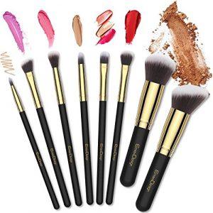 Recopilación de brochas maquillaje piezas cepillos dorado para comprar por Internet – El Top 30