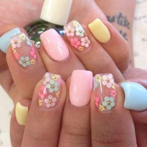 La mejor recopilación de fotos de uñas de gel decoradas para comprar On-line