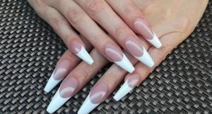 Listado de manicura francesa uñas largas para comprar por Internet