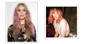 Catálogo para comprar on-line pelo rosa claro