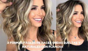 Ya puedes comprar On-line los tutorial para rizar el pelo con la plancha