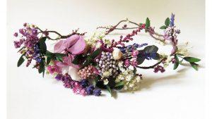 Recopilación de tocados de flores para el pelo para comprar on-line – Los mejores