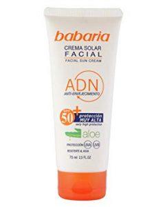 Recopilación de crema solar babaria 50 para comprar