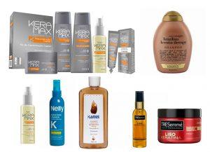 Selección de productos para proteger el pelo de la plancha para comprar on-line