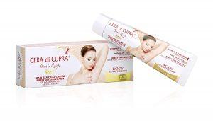 Selección de crema depilatoria o cera para comprar por Internet