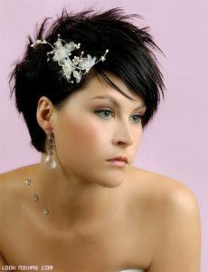 La mejor lista de tocados novia pelo corto para comprar por Internet – Los 20 favoritos