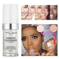 Opiniones de Base maquillaje líquida cambiante color para comprar on-line
