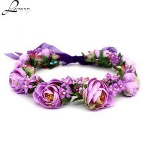 La mejor recopilación de flores de moda para el cabello para comprar en Internet