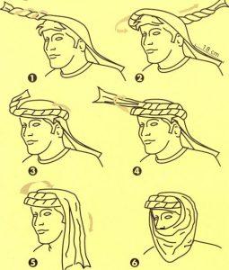 Lista de turbante hombre para comprar Online