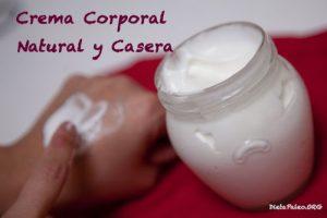 Catálogo para comprar Online crema corporal casera para piel seca