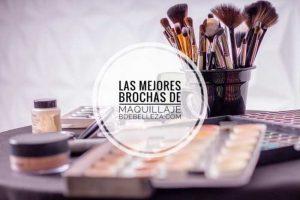 El mejor listado de mejores brochas de maquillaje del mercado para comprar por Internet