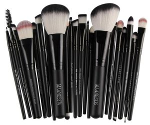 Recopilación de brochas maquillaje Cepillo conjunto belleza para comprar On-line