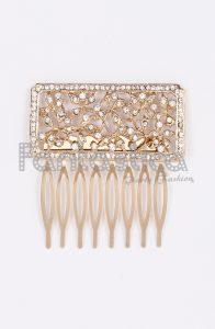 peinetas doradas para el pelo disponibles para comprar online – Los Treinta más solicitado