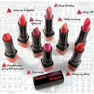 Listado de Pintalabios Bourjois unidades colores Red Outable para comprar Online