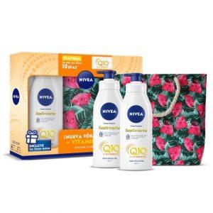 Listado de nivea aceite corporal reafirmante q10 para comprar online