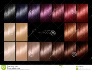Listado de color de pelo tinte para comprar online
