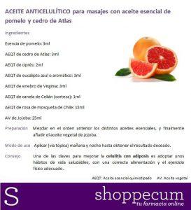 Recopilación de aceites esenciales para masajes anticeluliticos para comprar on-line
