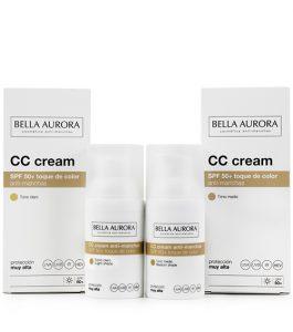 Lista de cc cream bella aurora piel sensible para comprar en Internet – Los más vendidos