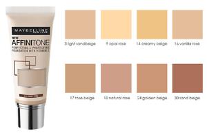 Opiniones de Base maquillaje Affinitone vainilla rosa para comprar Online