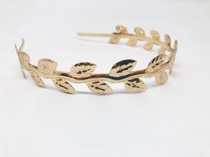 Listado de diadema dorada para comprar