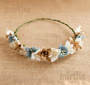 El mejor listado de coronas de flores para el pelo para comprar Online