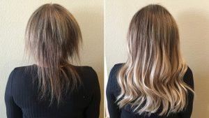 Selección de pelo con extensiones para comprar on-line