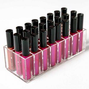 La mejor lista de Pintalabios transparente organizador maquillaje almacenamiento para comprar On-line – Los Treinta preferidos