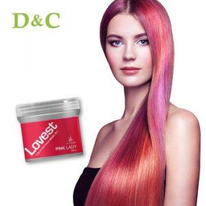 La mejor recopilación de tinte rosa pelo para comprar