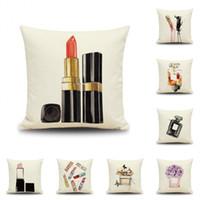 Listado de Pintalabios cosmeticos almohada decorativa cuadrado para comprar Online – Los 20 preferidos