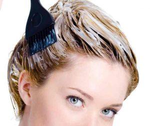 Selección de manchas de tinte del pelo en la piel para comprar Online