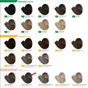 Catálogo de paleta de colores tinte pelo para comprar online – Los más vendidos