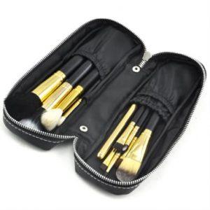Selección de brochas maquillaje unidades nailon madera para comprar – Los más solicitados