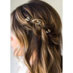Opiniones de horquillas de flores para el pelo para comprar on-line