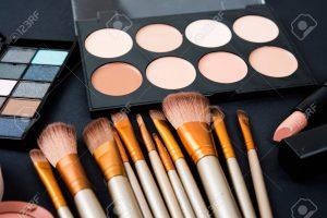 Selección de maquillaje profesional productos para comprar Online