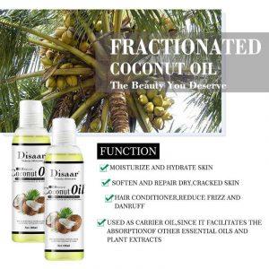 Recopilación de aceite de coco masaje corporal para comprar
