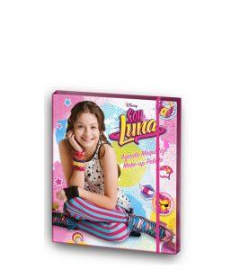 Catálogo para comprar por Internet kit de maquillaje de soy luna