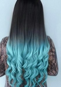 Selección de tinte de pelo de colores para comprar on-line