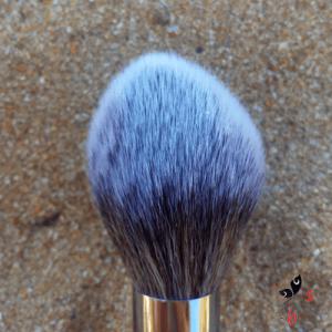Listado de brochas maquillaje aspecto elegante plateado para comprar online