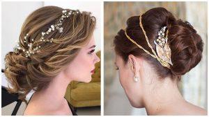 peinados con diademas de flores que puedes comprar online