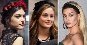 La mejor recopilación de peinados con diademas en la frente para comprar On-line