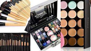 Lista de maletin completo de maquillaje profesional para comprar por Internet