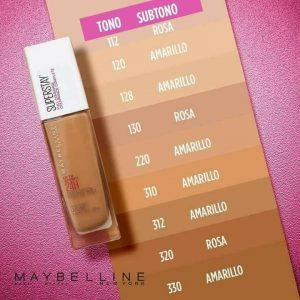 Base maquillaje Superstay Maybelline disponibles para comprar online – Los Treinta preferidos