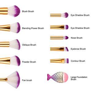 Recopilación de Brochas maquillaje Diamond Gradient mujeres para comprar Online