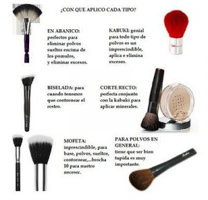 Catálogo de brochas maquillaje kabuki sintética polvos para comprar online – Los Treinta favoritos