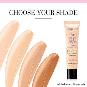 Catálogo de tonos cc cream bourjois para comprar online – Favoritos por los clientes